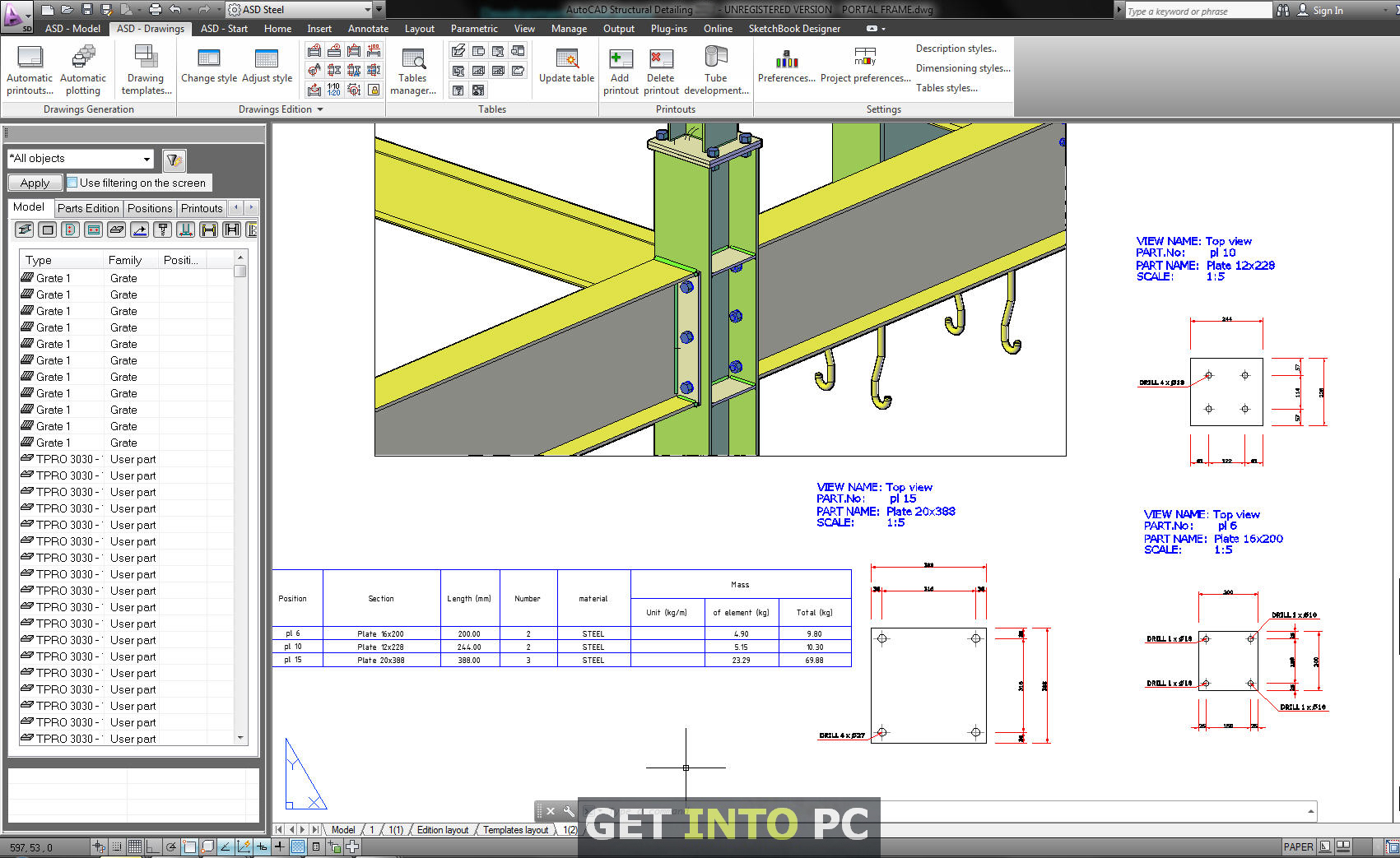 Free AutoCAD Structural Detailing 2015 Download