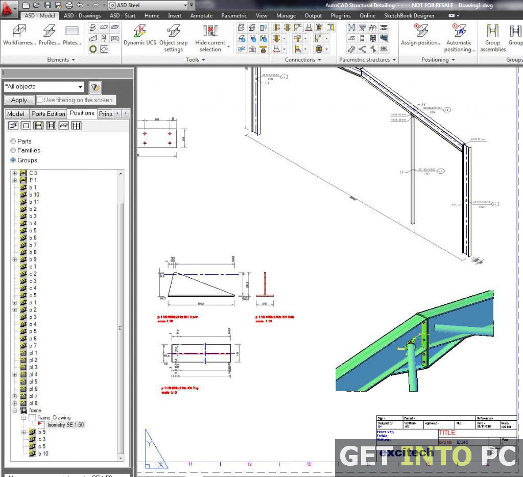 Free Download AutoCAD Structural Detailing 2015
