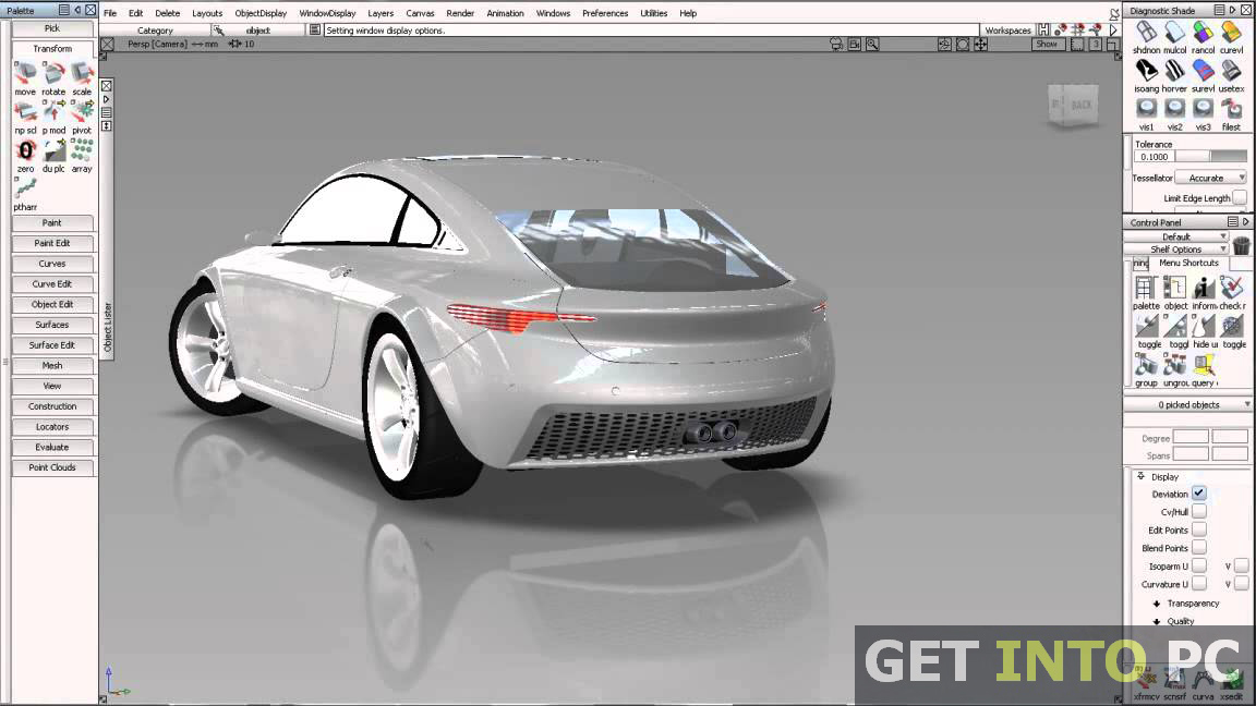 Free Download Autodesk Alias Automotive 2015