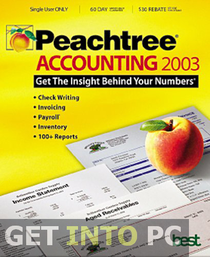 Free download Peachtree 2003