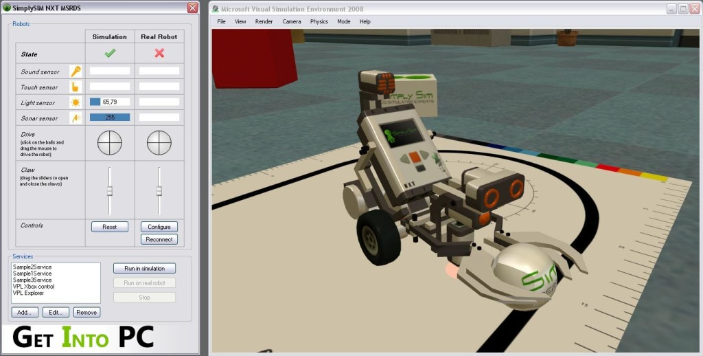 Microsoft Robotics Developer Studio Features