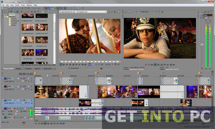 Sony Vegas Pro Setup Free Download