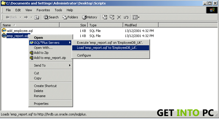 Oracle 9i download for windows 7 32 bit.