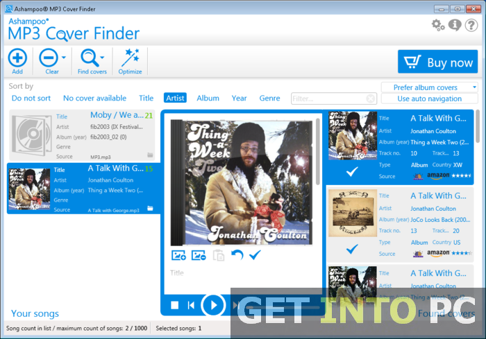 MP3 Cover Finder Free Download