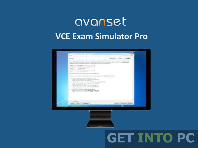 VCE Exam Simulator Pro Software