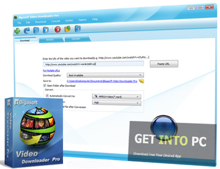 Bigasoft Video Downloader Pro Latest Version