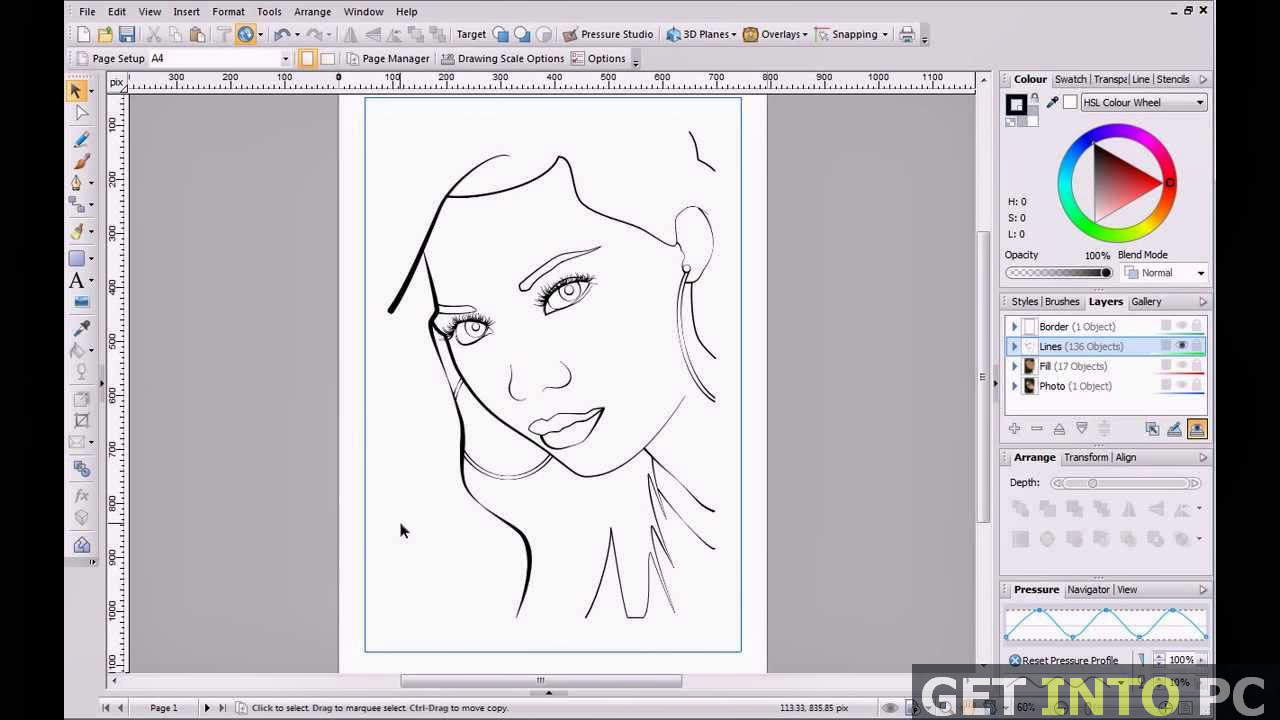 Line Art Corel Draw Tutorial : Coreldraw graphics suite free download
