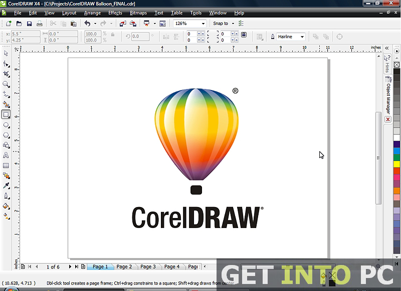 corel draw software free download full version