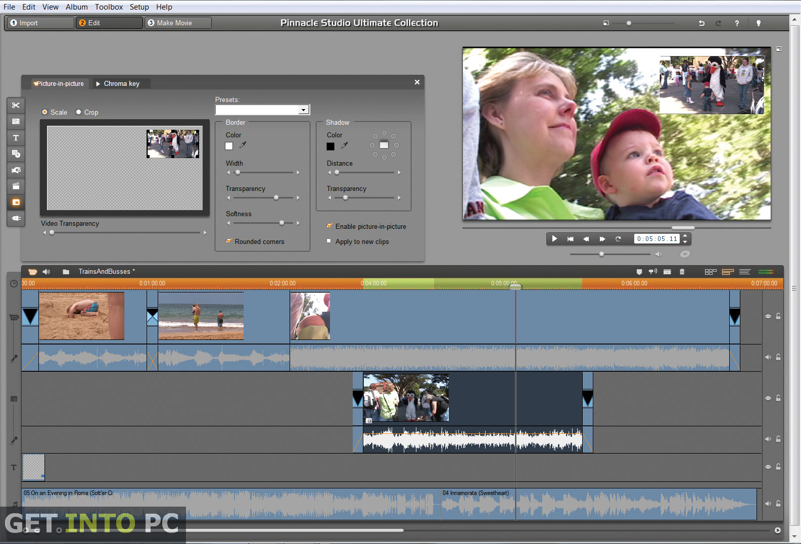 pinnacle studio hd editing software free download