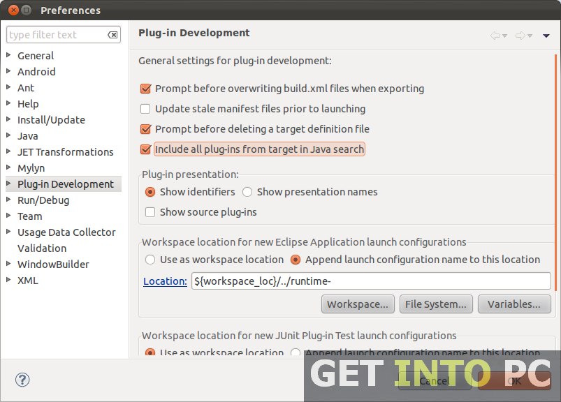 Eclipse Java IDE Free