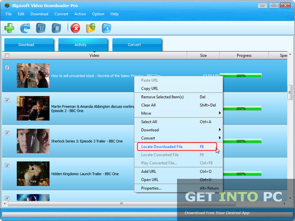 Free Bigasoft Video Downloader Pro Download