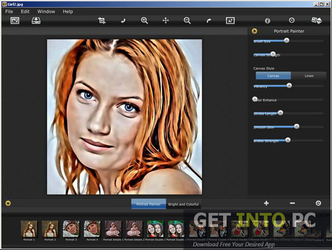 Portrait Painter Setup Free Download