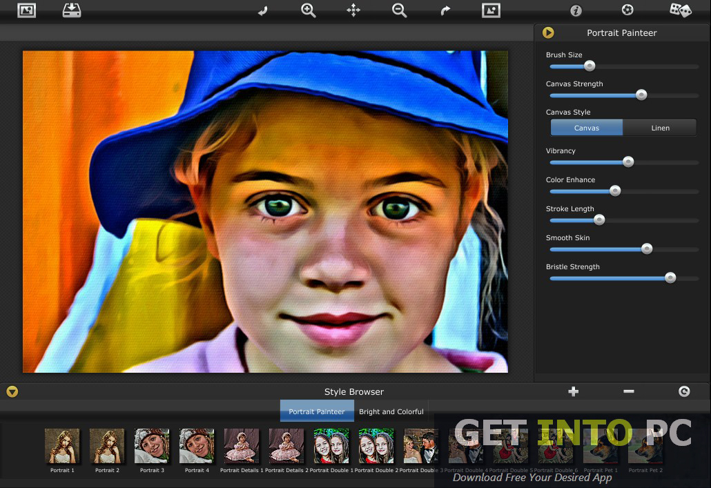 Jixpix Portrait Painter Setup Free
