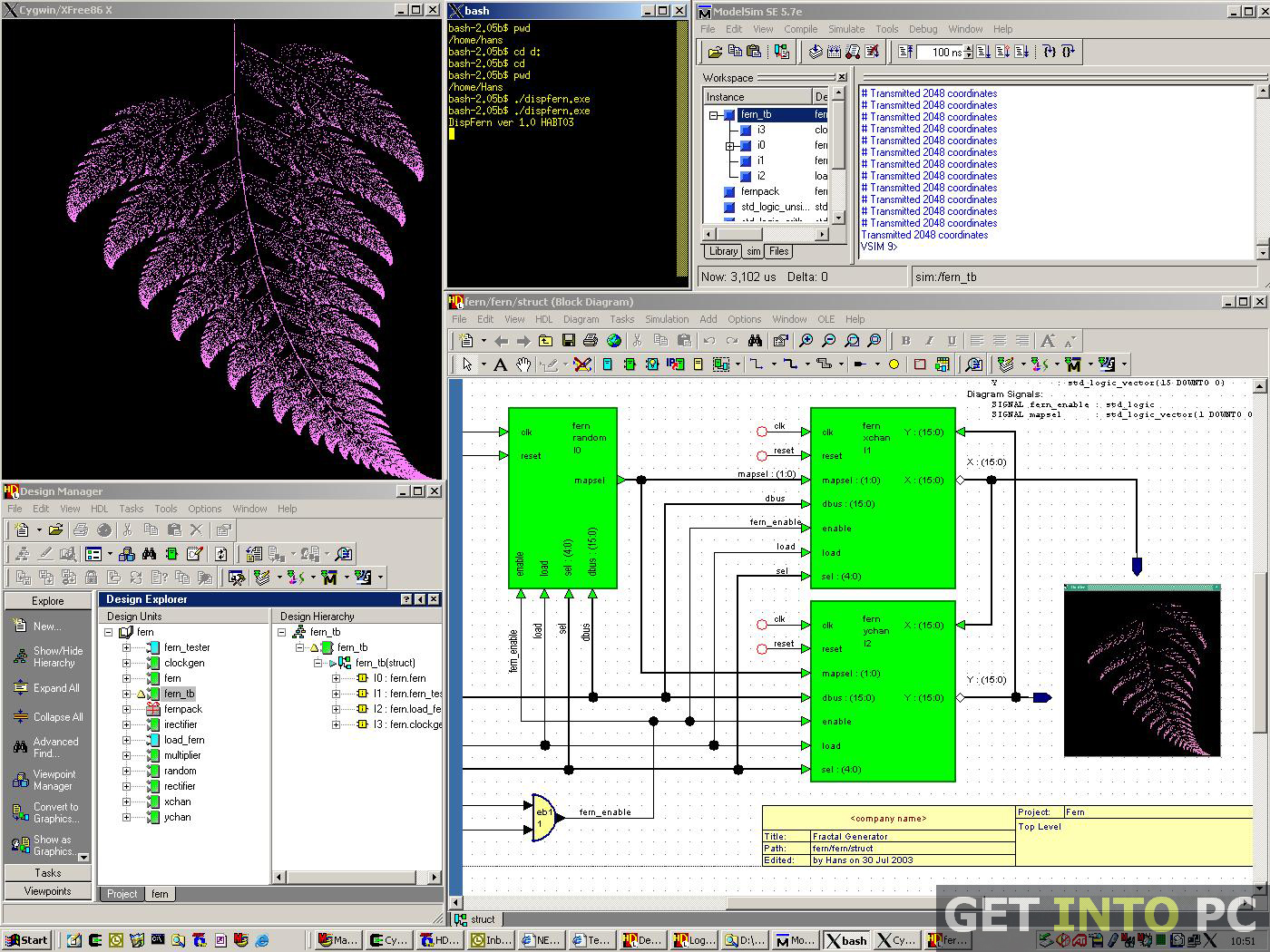 modelsim vhdl simulator free download