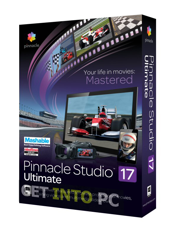 Pinnacle Studio 17 Ultimate video editing Setup