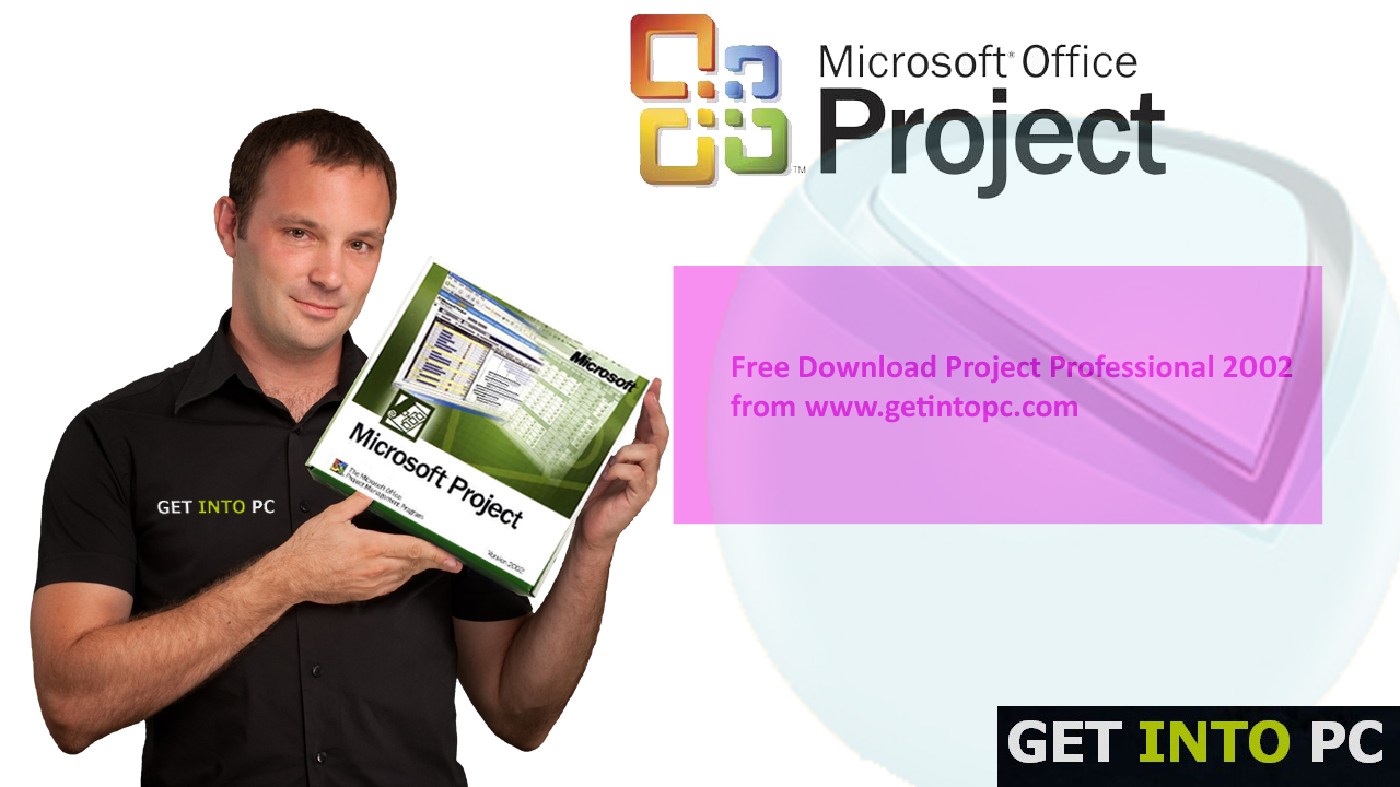 Project Professional 2002 Setup Free Download