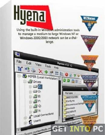 SystemTools Hyena Download for Windows