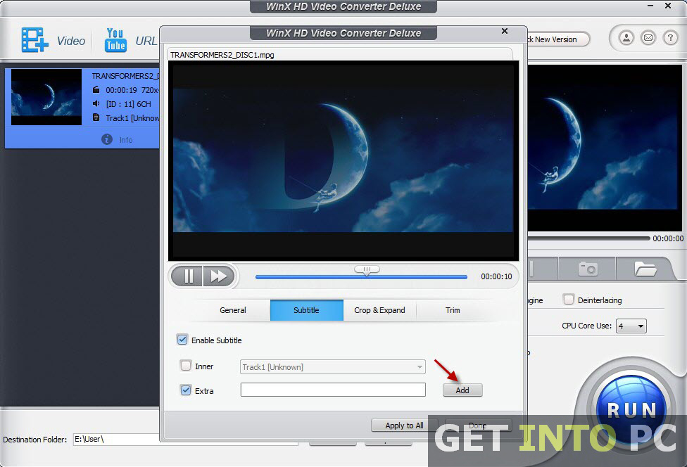 WinX HD Video Converter Deluxe Latest Version