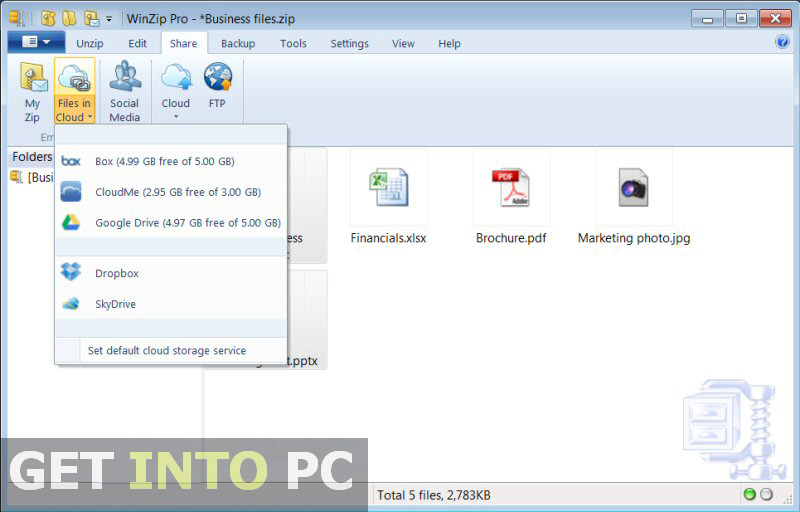 WinZip PRO Download for Windows