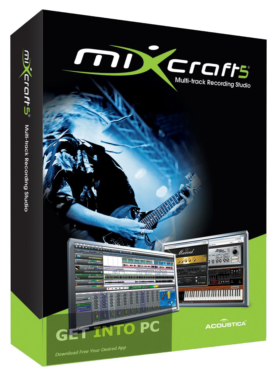 Acoustica Mixcraft For Windows