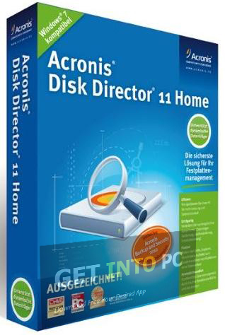 Acronis Disk Director Download For Windows