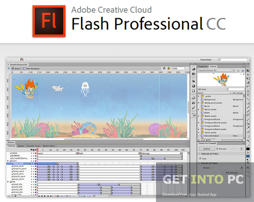 Adobe Flash Pro CC Setup Free