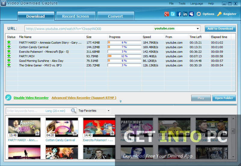 Apowersoft Video Download Capture Setup