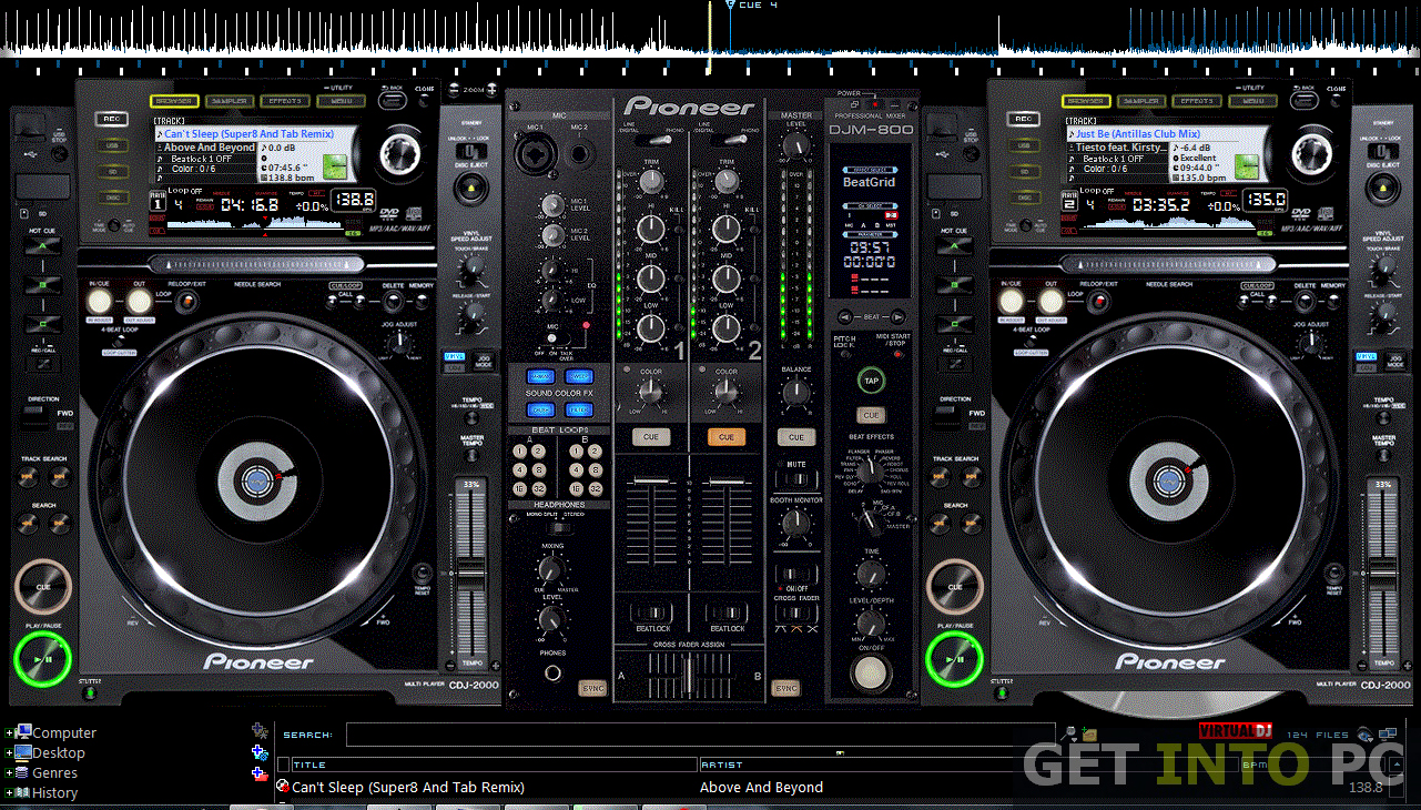 Atomix Virtual DJ Pro Free Download