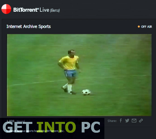 BitTorrent Live Download For Windows