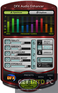 DFX Audio Enhancer Free