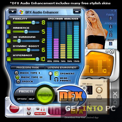 DFX Audio Enhancer Setup Free