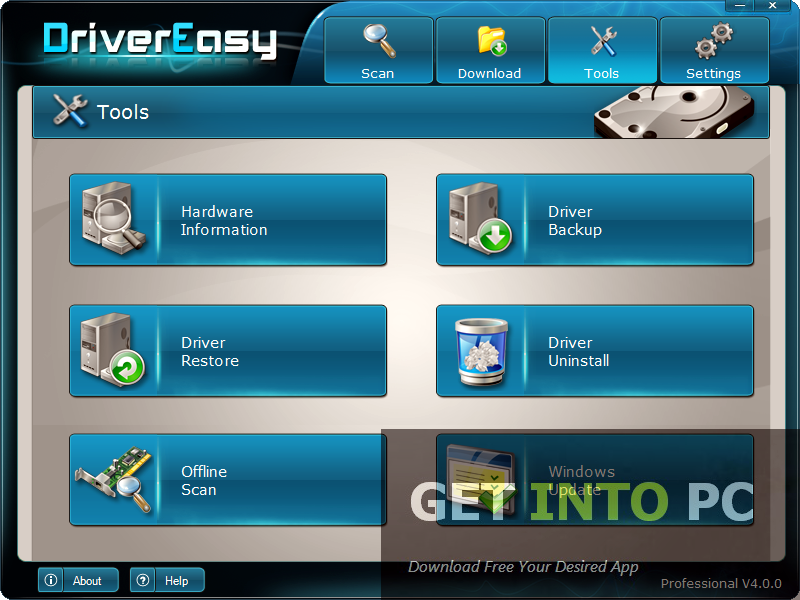 Driver Easy Professional Software for PC