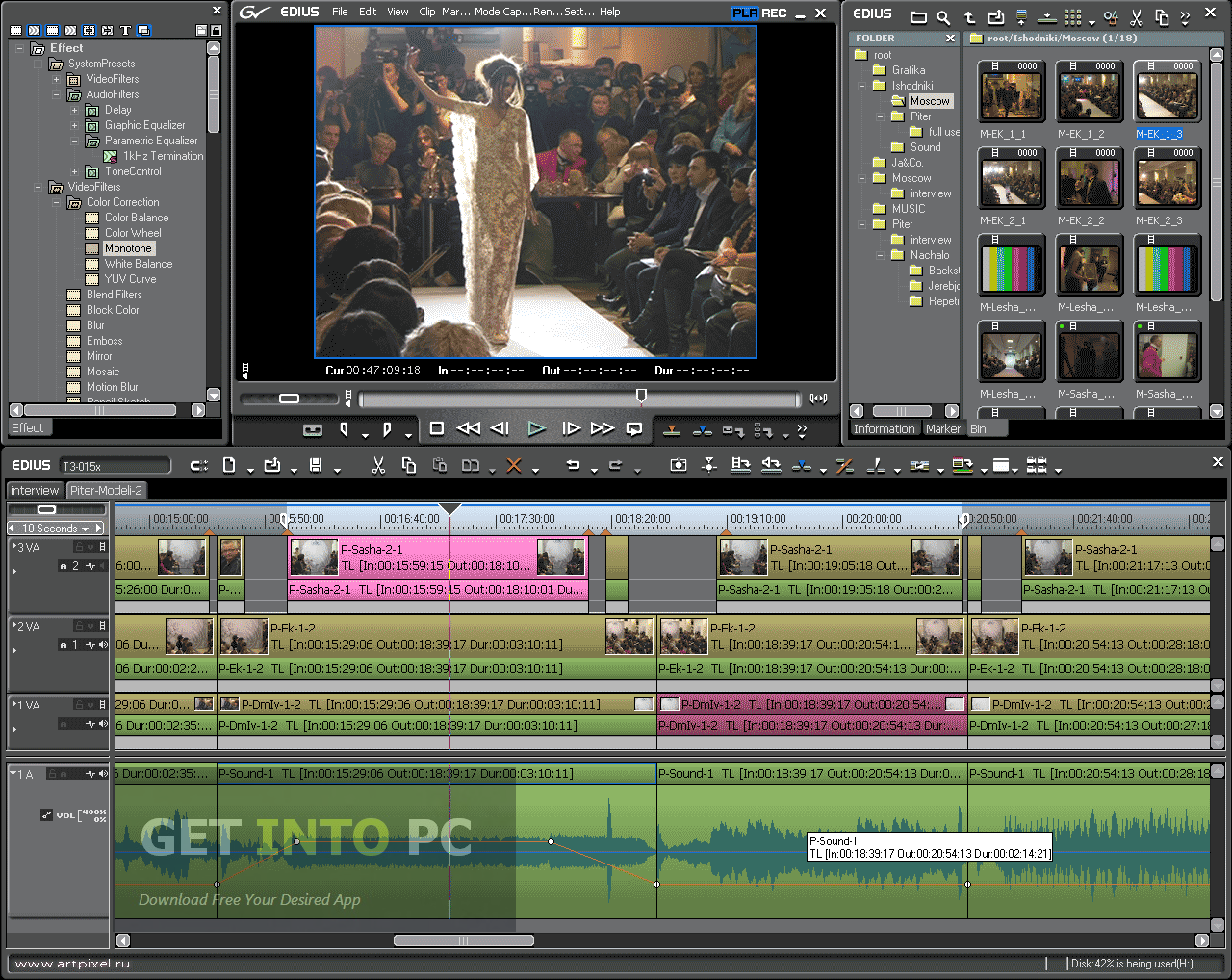 edius video editing software free download full version