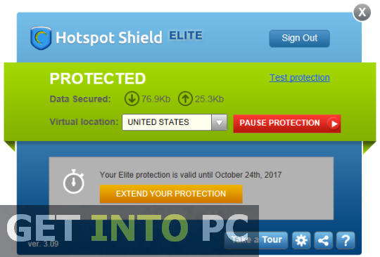 Hotspot Shield Elite Free Download