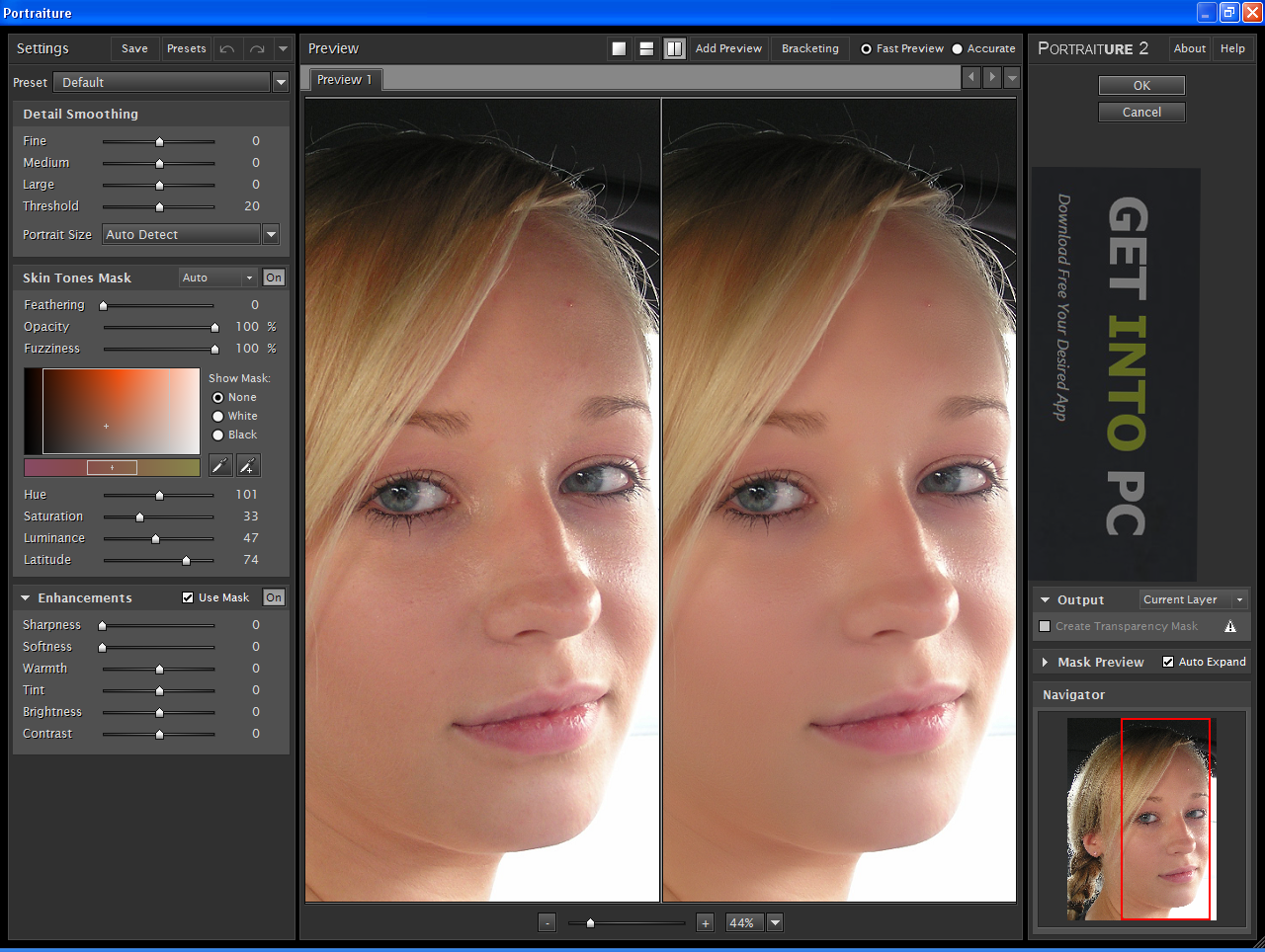imagenomic portraiture gratuit