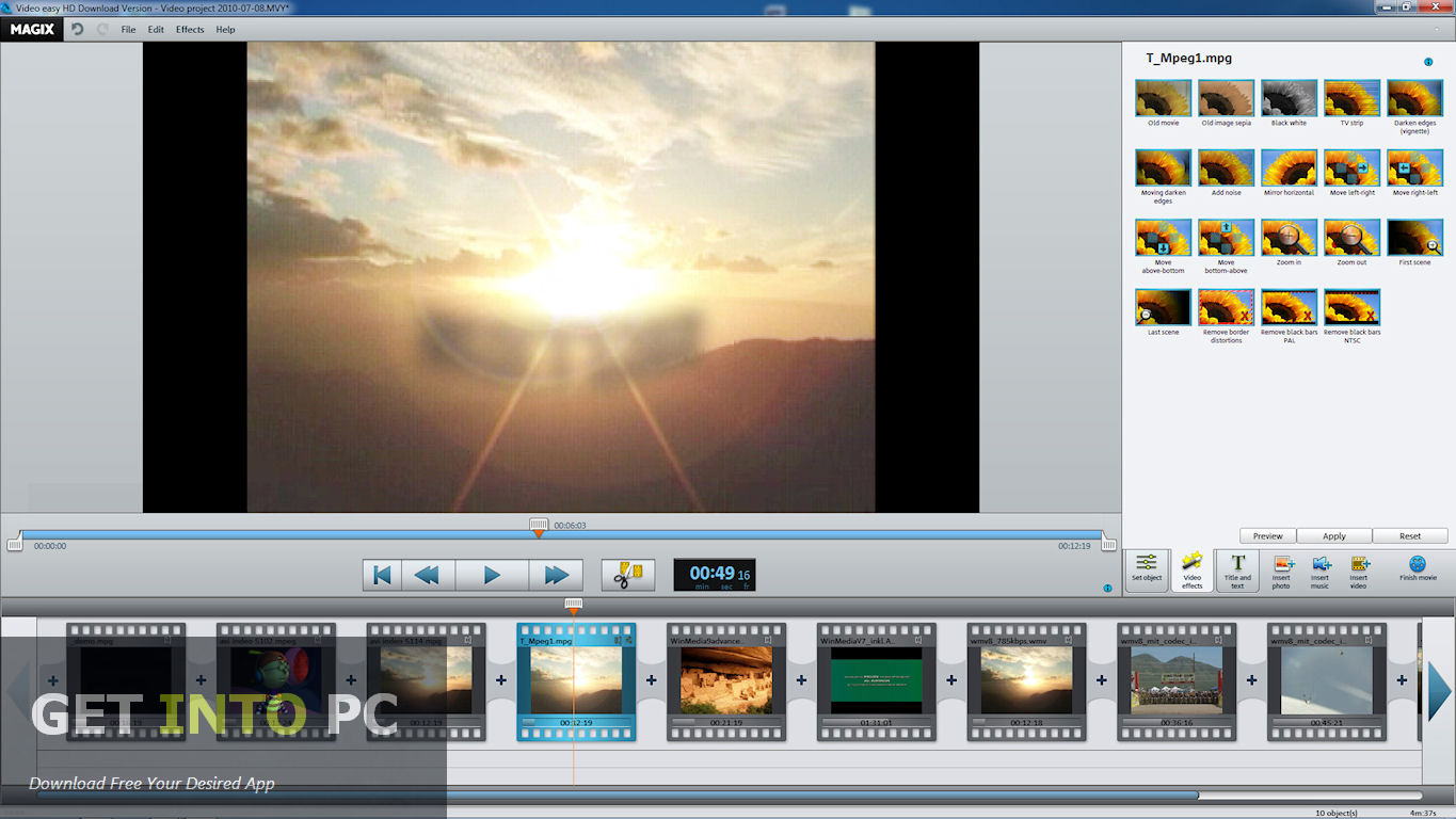 Magix Video Easy Free Download-9038