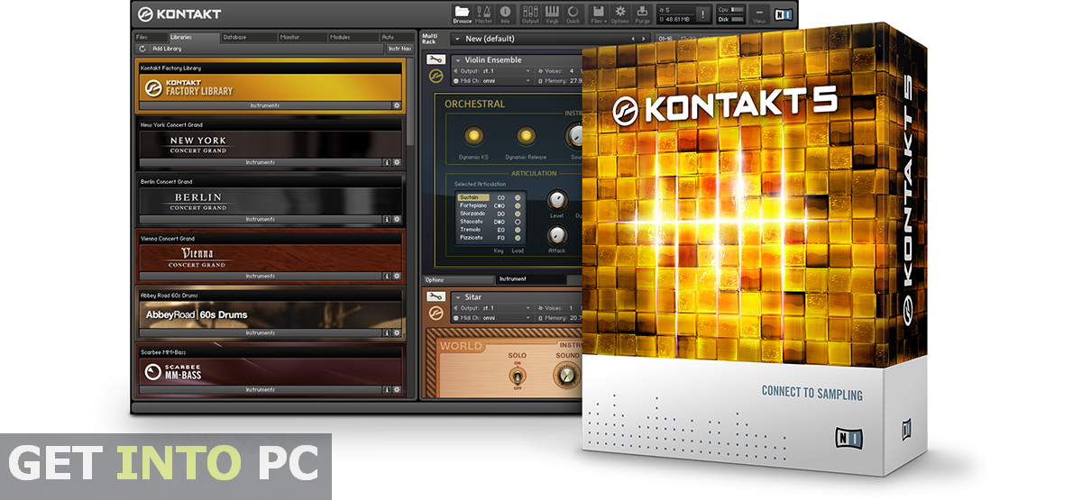 Native Instruments Kontakt 5 Overview