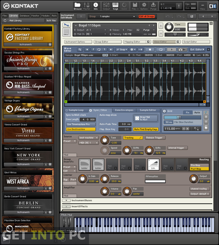 Native Instruments Kontakt for Windows