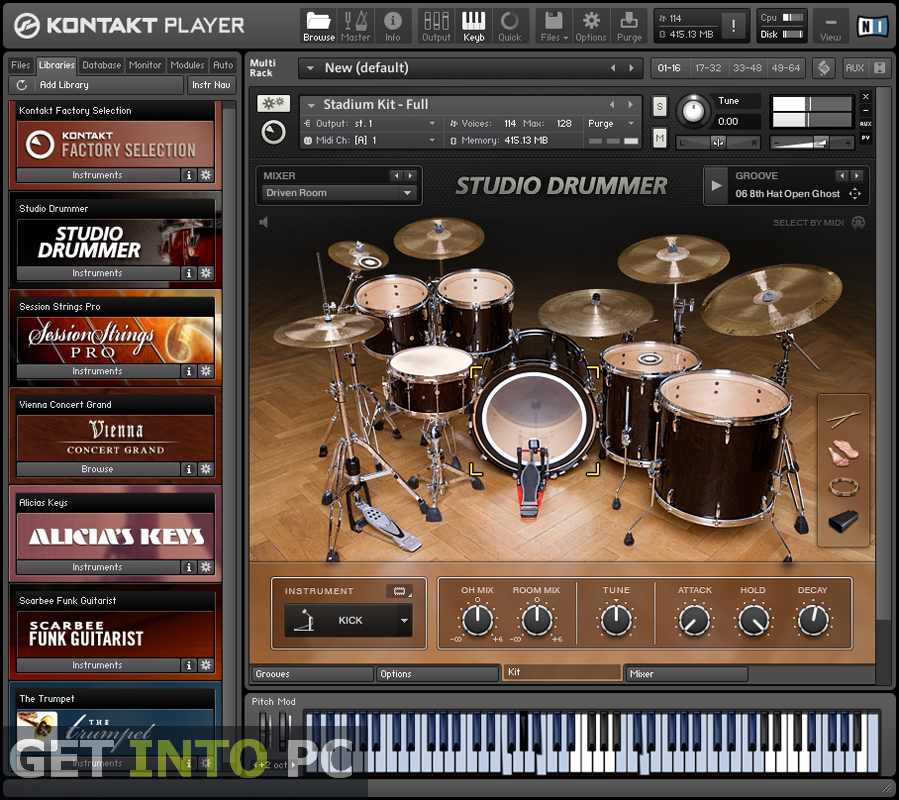 Native Instruments Kontakt Free Download