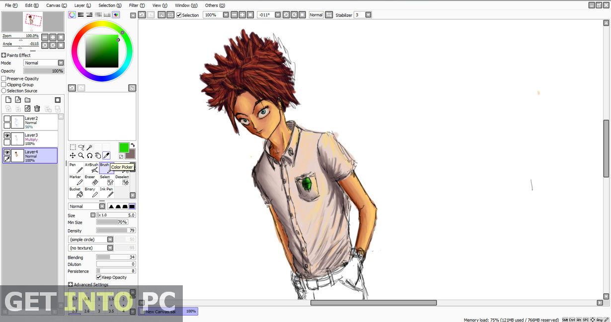 paint tool sai free full version 2017