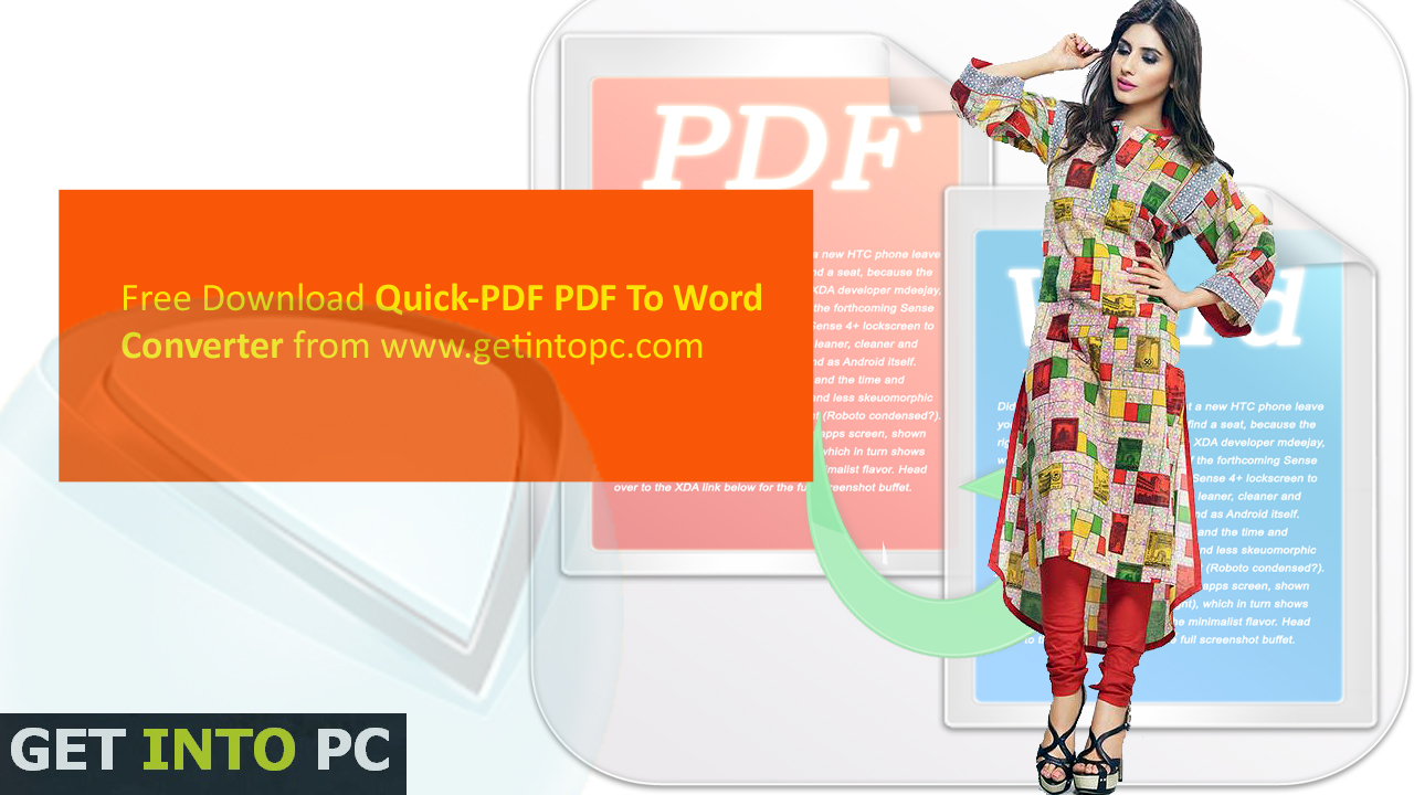 Quick-PDF PDF To Word Converter Download For Windows