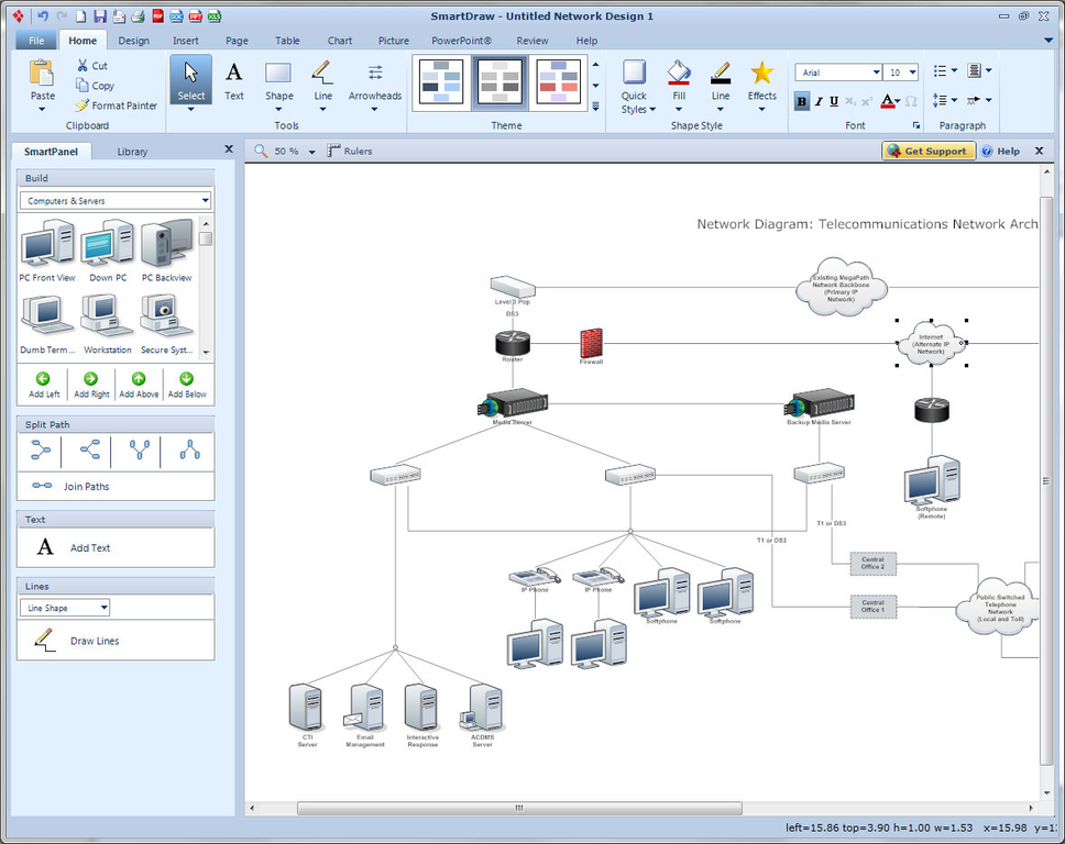 Download smartdraw free trial software.
