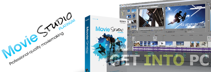 Sony Movie Studio Platinum Video editor