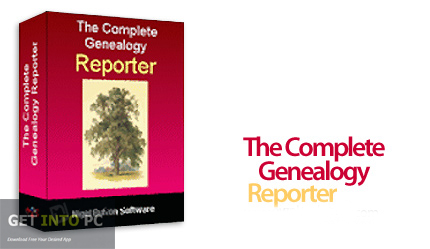 The Complete Genealogy Reporter 2018 Free Download