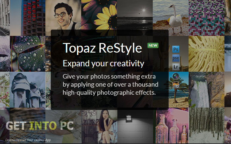 Topaz Restyle photo editor image retouching