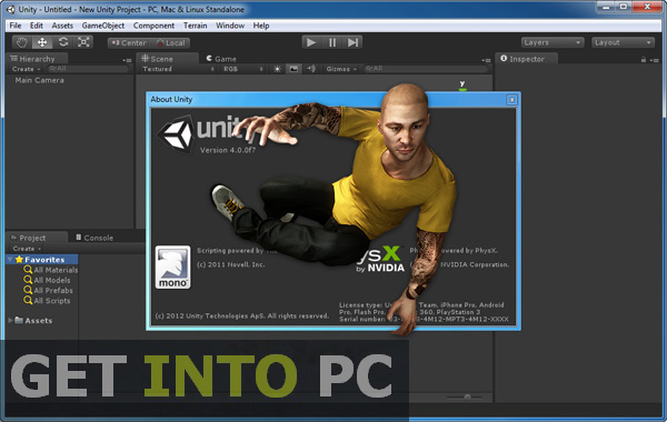 Unity 3D Pro Download for windows