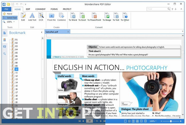 Wondershare PDF Editor Free Download