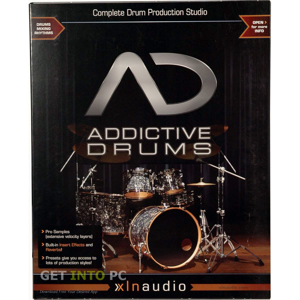 XLN Audio Addictive Drums Music Software