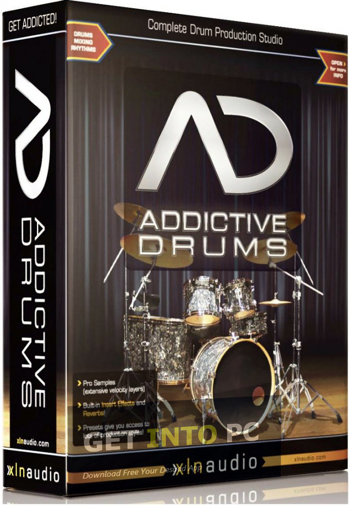 XLN Audio Addictive Drums Download For Windows