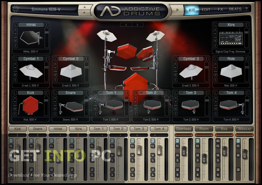xln audio addictive drums free download. Black Bedroom Furniture Sets. Home Design Ideas